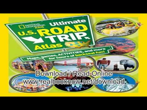 Books Of National Geographic Kids Ultimate U S Road Trip Atlas Maps Games Activities And More For H