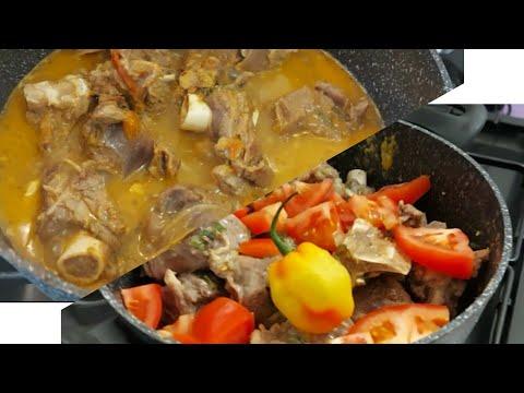 Pepe Soup Ya Ntaba Elengi Nde Boye |viande De Chèvre |Mamy Siango