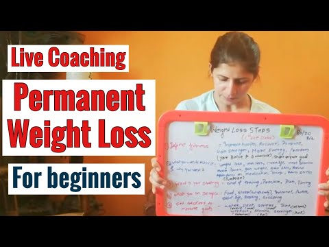 permanent-weight-loss-for-beginners|-steps-|-live-coaching-class