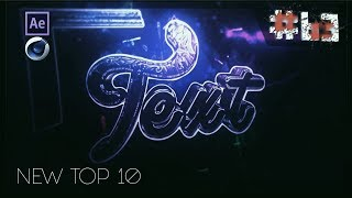 TOP 10 FREE Intro Templates #63 [Cinema 4D + Adobe After Effects]