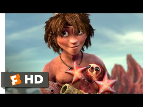 The Croods (2013) - Try This On For Size Scene (6/10) | Movieclips