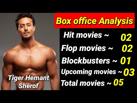 Tiger Shroff All Hit Or Flop Movies List And Box Office Collection