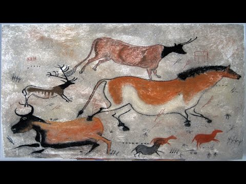 Art Lesson:  How to Re-create a Cave Painting