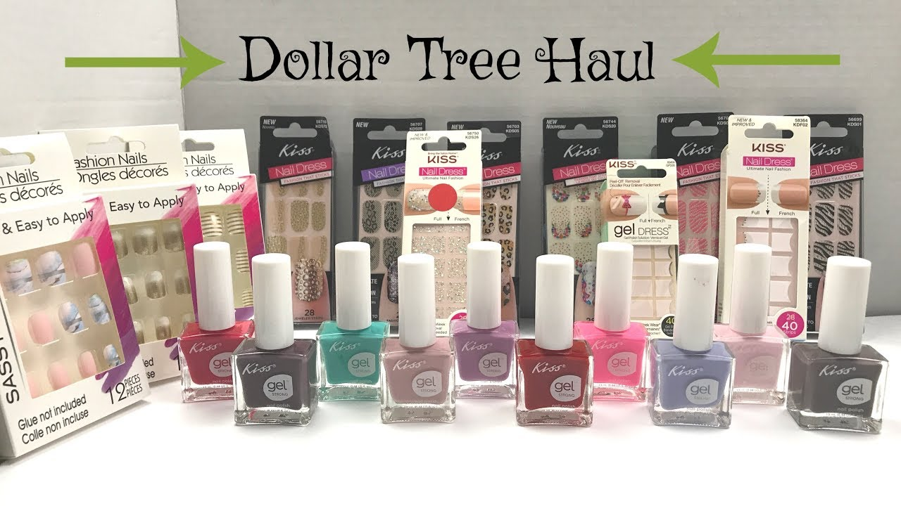 Dollar Tree Haul: Kiss Gel Nail Polish: Kiss Nail Strips: Sassy ...
