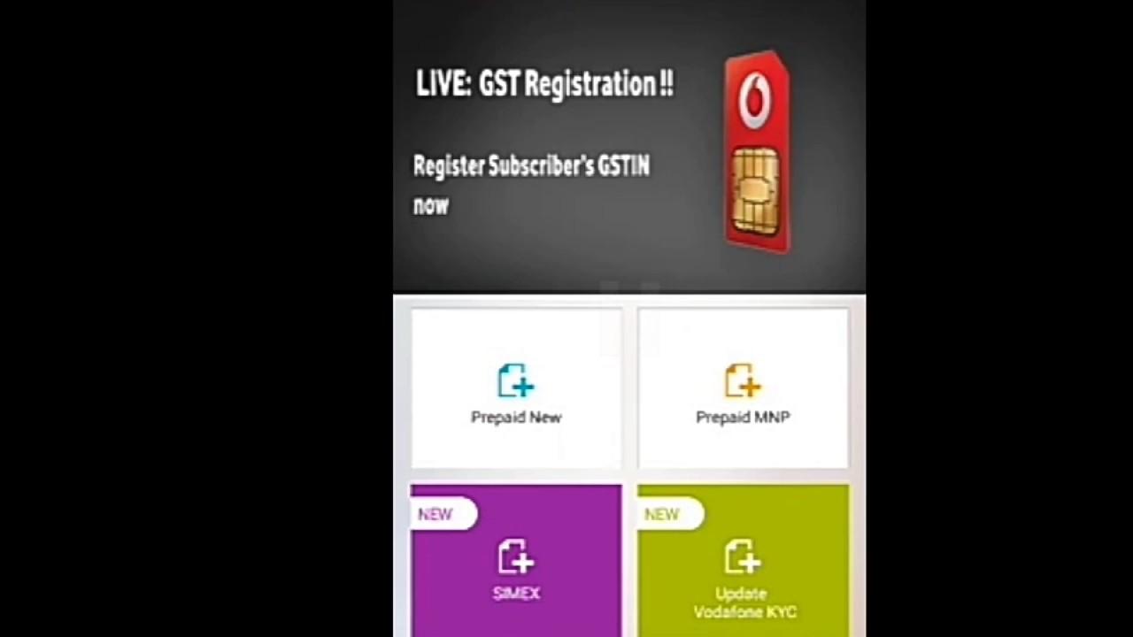vodafone sim activation status online