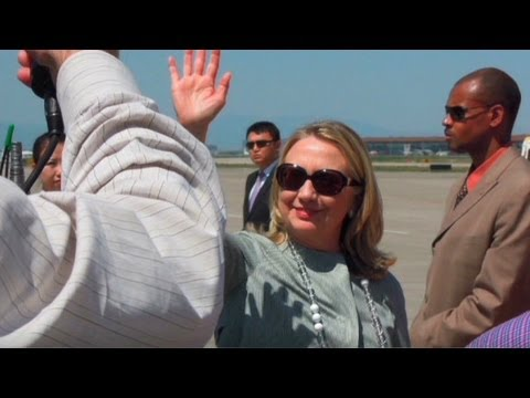 Travel editor spent 9 days with Secretary of State Hillary Clinton