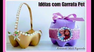 4 IDEIAS com Garrafa Pet / Ft. Diy com Fabiana Nogueira
