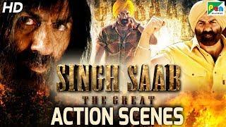 Singh Saab The Great - Back To Back Action Scenes | Full Hindi Movie | Sunny Deol, Urvashi Rautela