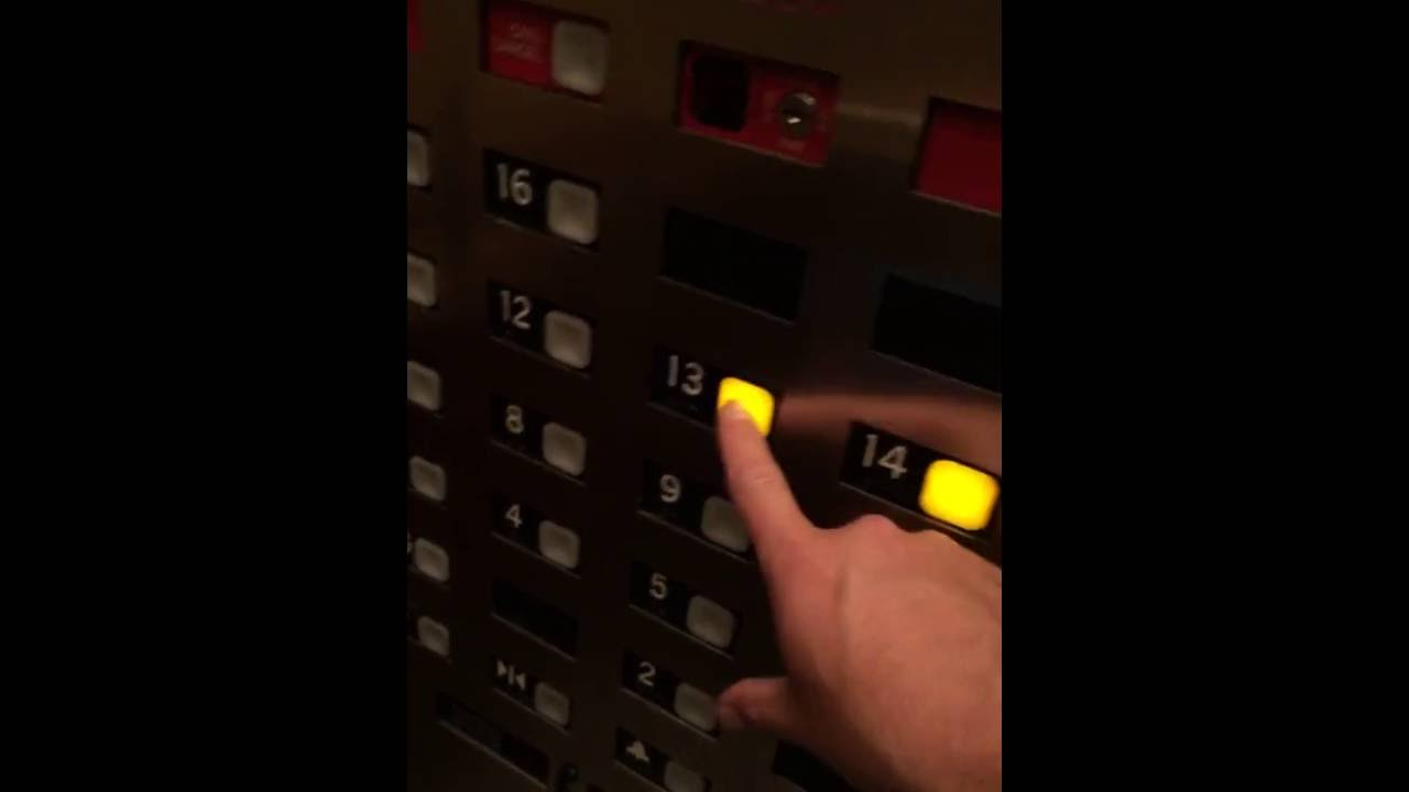 When the elevator actually has a 13th floor button youtube for 13th elevator floor