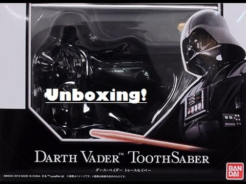 Darth Vader ToothSaber Unboxing! - YouTube 7b05f4b8f