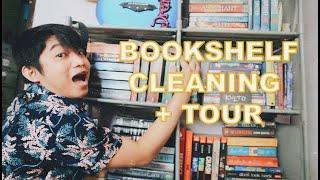BOOKSHELF CLEANING + BOOKSHELF TOUR | Pinoy Booktuber | Gerald The Bookworm