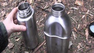 Nalgene Bottle vs Military Canteen (Stainless Steel)