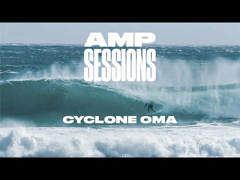 6 Minutes of the Best Rides from Cyclone Oma on Australia's Gold Coast   Amp Sessions   SURFER