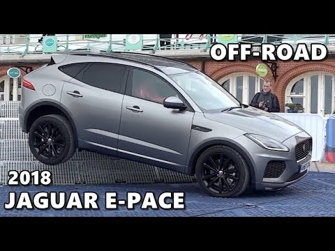 2018 jaguar e pace extreme off road test youtube. Black Bedroom Furniture Sets. Home Design Ideas