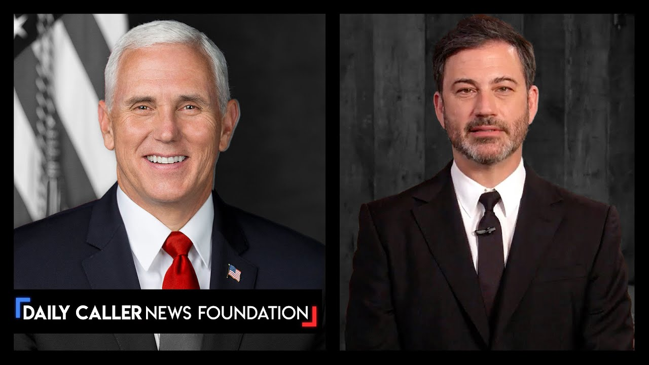 Jimmy Kimmel Gives Backhanded Apology After Posting Edited Video Of Mike Pence