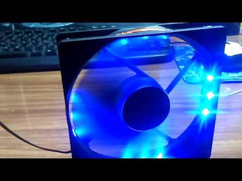 видео: Делаем подсветку кулера пк своими руками