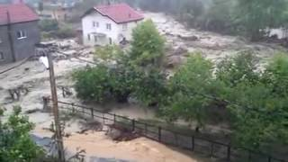 Türkeli Hamamlı Köyü Temmuz 2012 Sel Felaketi