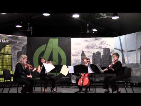 riverrun for String Quartet by Juan-Salvador Carrasco