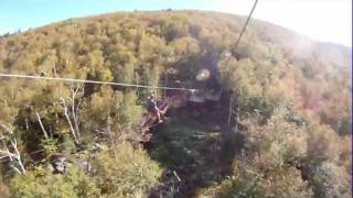 New York Zipline Adventure Tours, Skyrider Tour, Hunter Mountain, 2011