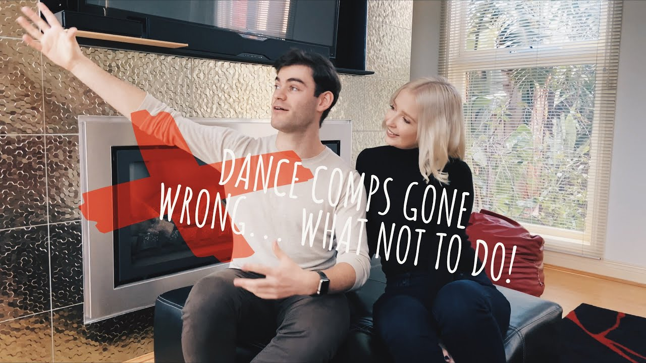 Dance comps gone wrong... what not to do! | Ballroom Dance Tutorials | Episode 5