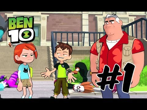 Ben 10 - Zombozo Stealing People's Happiness - Part 1 [Playstation 4]