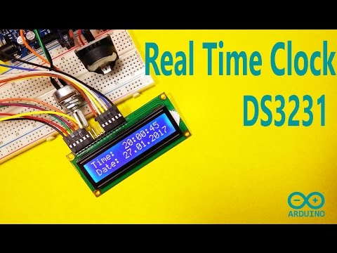 Arduino Tutorial - DS3231 Real Time Clock