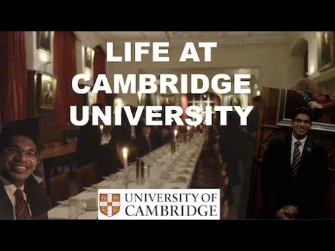 ANOTHER DAY IN THE LIFE AT CAMBRIDGE UNIVERSITY