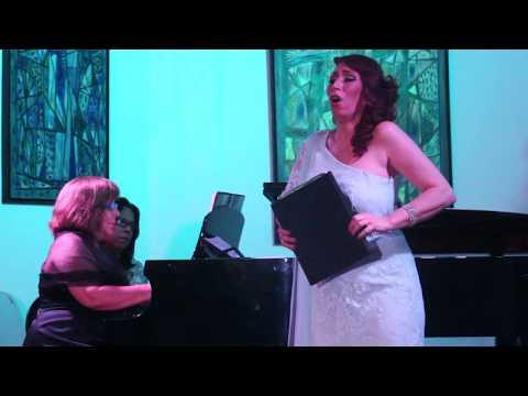 """Rosas para ti"" by Dominican Classical composer Luis Rivera, Anna Tonna and Maria Geraldes"