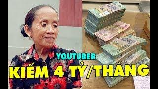 Từ một nông dân thực thụ bà Tân Vlog giờ đã trở thành Youtuber kiê'm tiền tỷ mỗi tháng nhơ` đâu