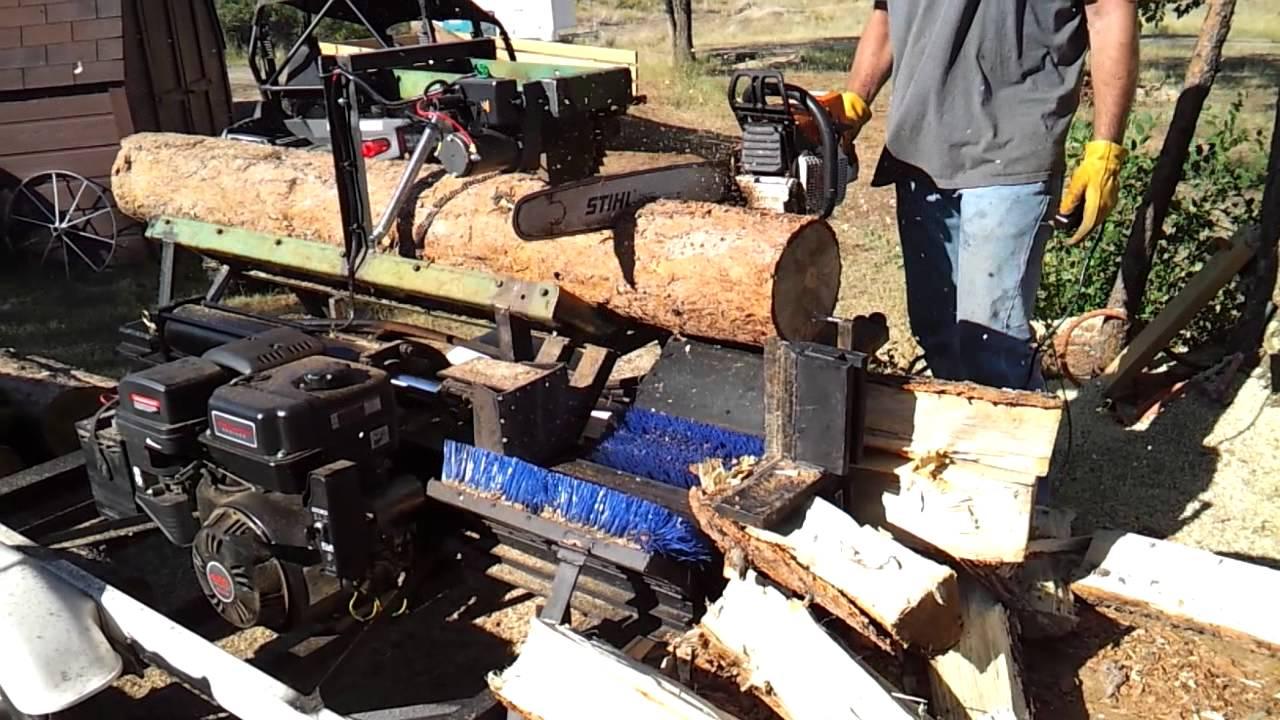 diy wood processor