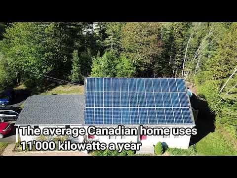 Grid Tied Solar Installation in Douglas, NB