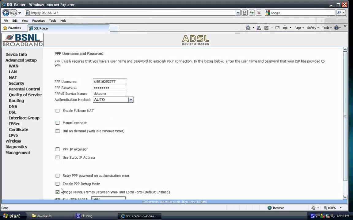 BSNL wifi settings to access net on IPHONE or IPAD etc ,