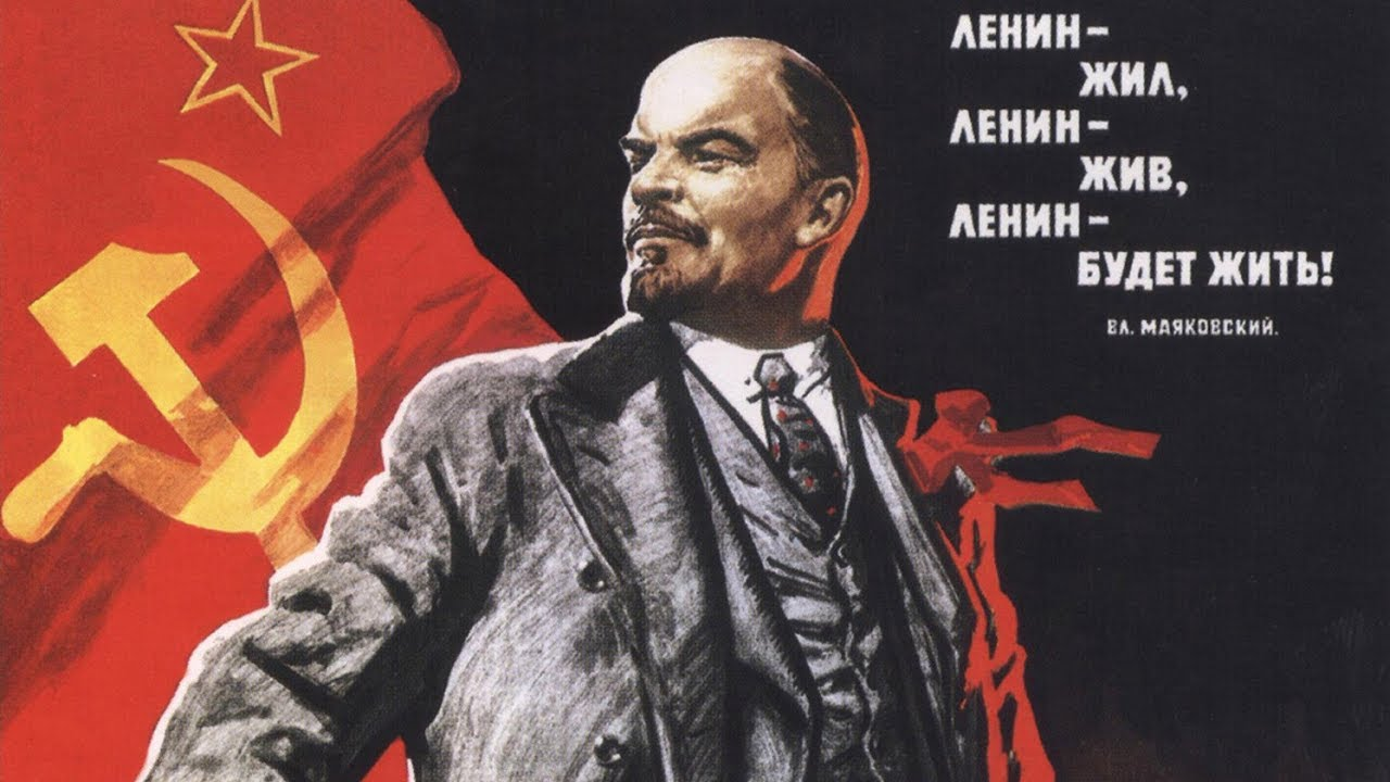 history of vladimir lenin and the success of his ruling after the october revolution