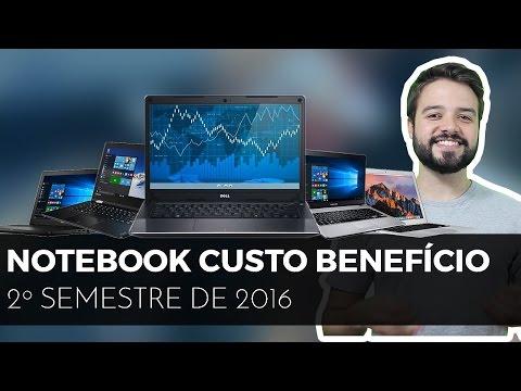 qual NOTEBOOK CUSTO BENEFÍCIO para 2016 & 2017? | Opções variadas!