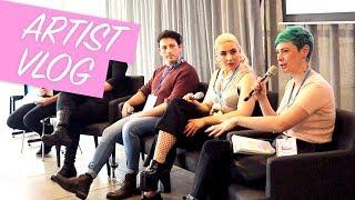 Artist Vlog #5   I'm talking at Creative State Summit! (2/2)