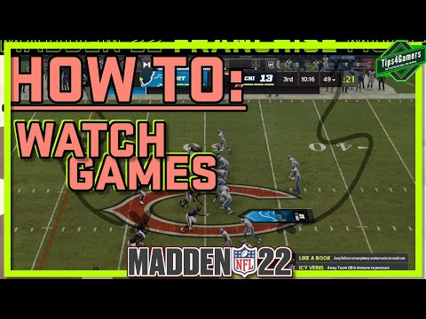 How to Watch Madden 22 Games LIVE🔴| Madden 22 Franchise Mode