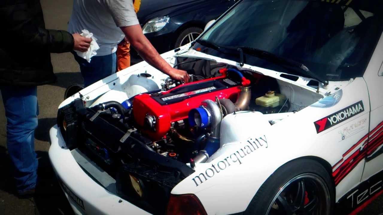 Bmw Drift Car With Nissan Engine Youtube