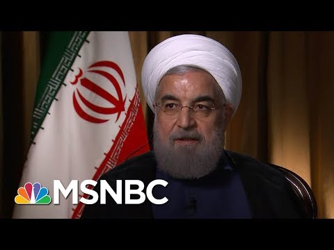 Iranian President Hassan Rouhani Warns Of 'High Cost' Of Pulling Out Of Nuclear Deal | MSNBC