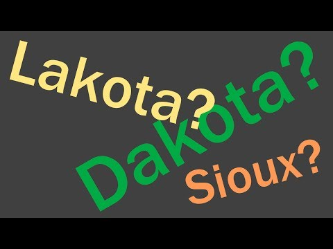 "Difference Between ""Dakota"" and ""Sioux"" Explained"