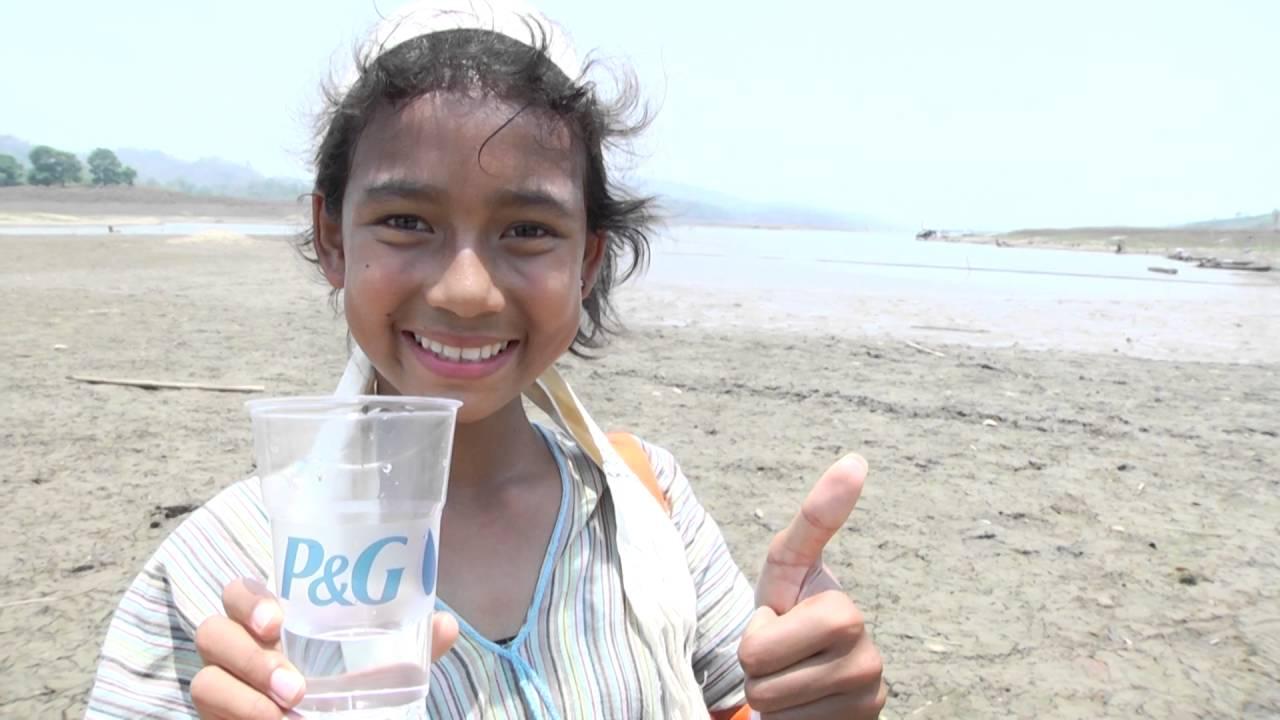 ประมวณภาพ น้ำดื่มปลอดภัย P&G