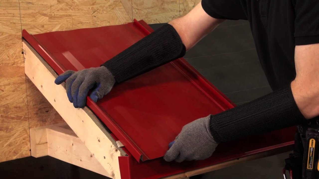 How To Install Metal Roofing Panels Abc