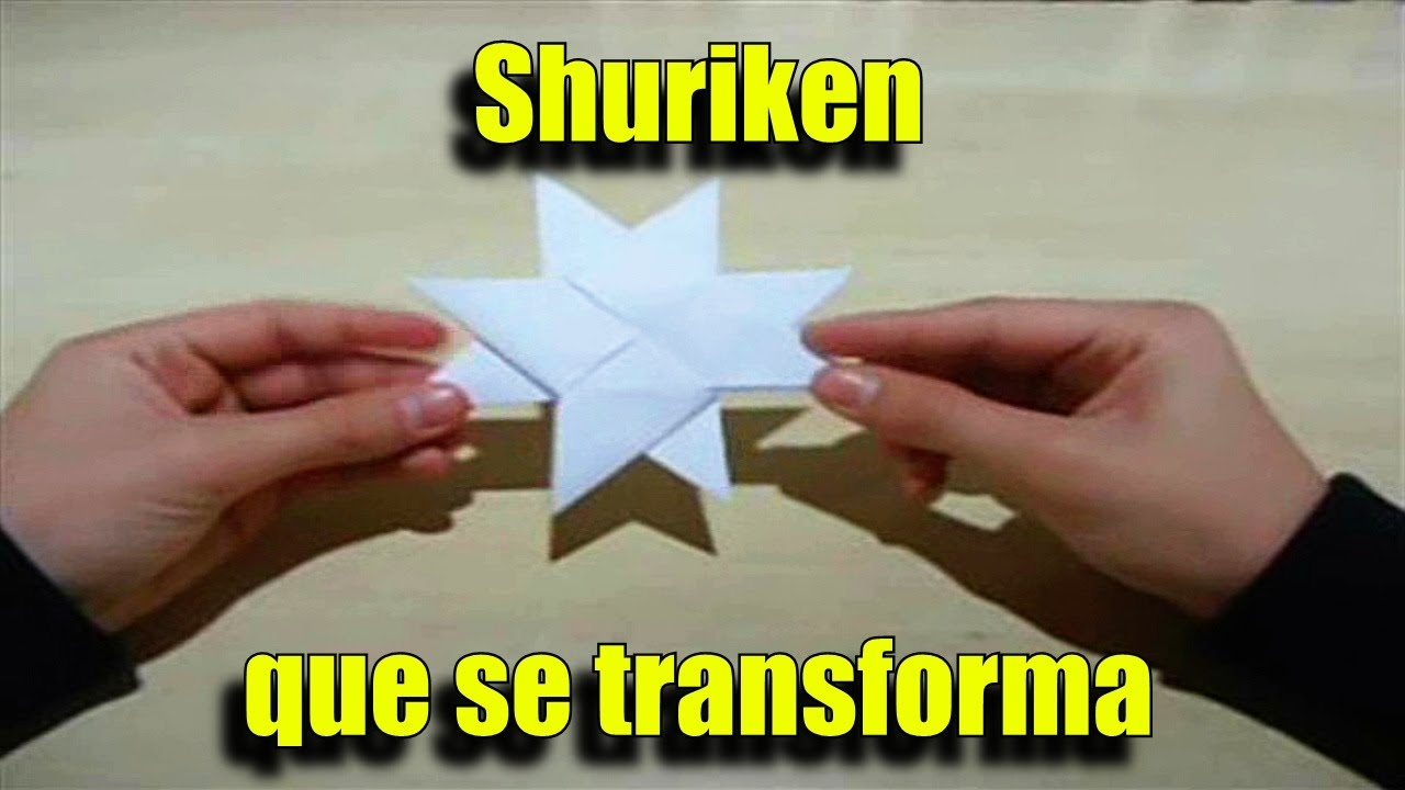 Shuriken que se transforma de 4 pontas para 8 pontas for Que se necesita para criar tilapias