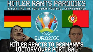 Hitler reacts to Germany's victory over Portugal