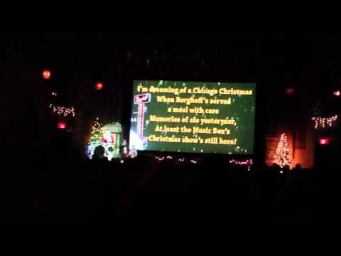 Holiday Sing Along at The Music Box Theater Chicago