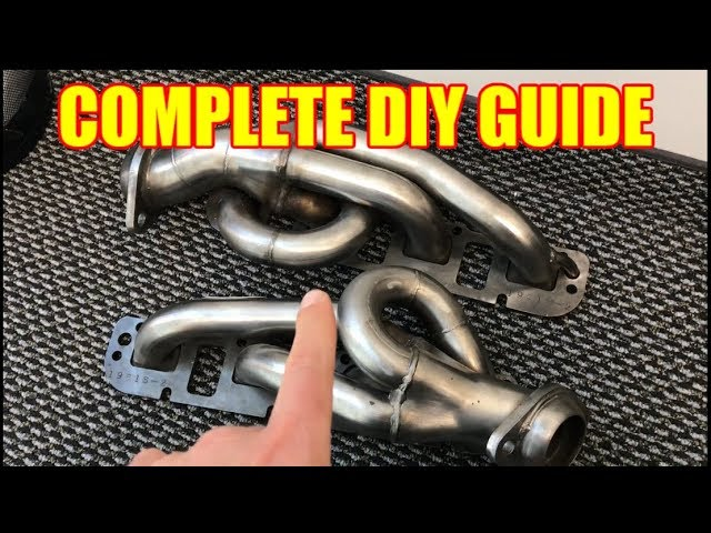 The Complete Shorty Header Install Guide For A Dodge Ram 1500 Youtube