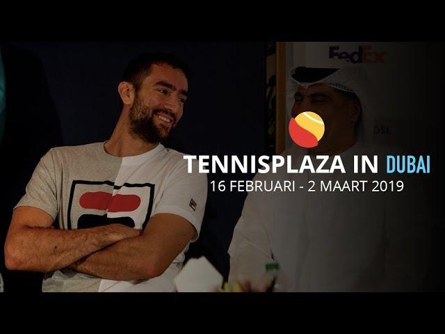 Tennisplaza in Dubai: Reactie Marin Cilic op loting ATP-Dubai