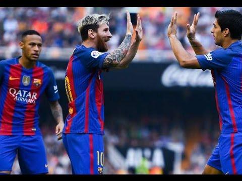 Download Valencia - Barcelona 2-3 Goals & Highlights 22/10/2016