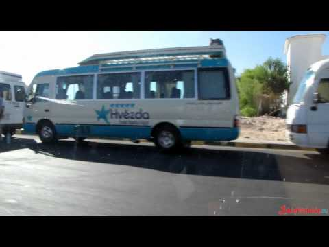 lubiepodroze.eu - Taxi ride from Sunny Days Palma De Mirette to Senzo Mall, Hurghada, Egypt - HD