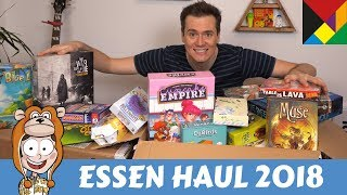 Essen 2018 Board Game Haul - Actualol