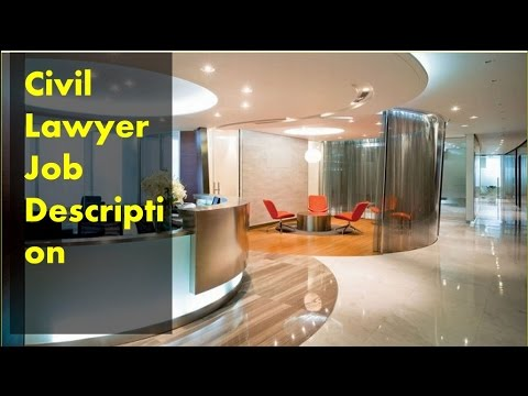 Civil Lawyer Job Description - Youtube